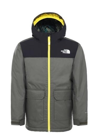 The North Face Freedom Insulated Erkek Çocuk Mont Yeşil Renkli